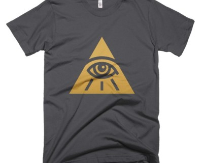 Golden All Seeing Eye