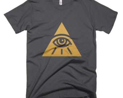 Golden All Seeing Eye