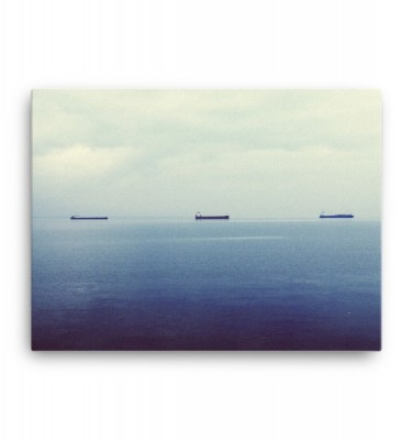 Shipping Lanes: Canvas Print