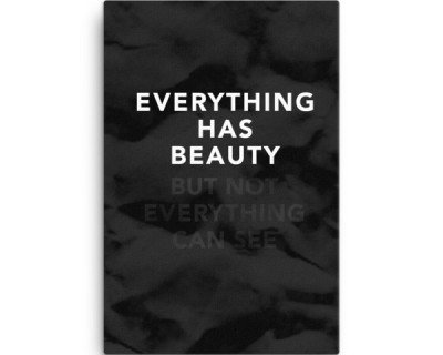 Everything has Beauty - But Not Everything Can See